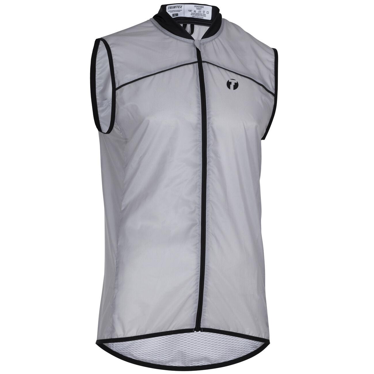 Feather running vest men's